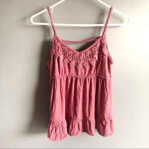 3/$20 Maurices Maroon Tank Top